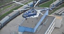 Helicopter Mi-8 / Chimneys