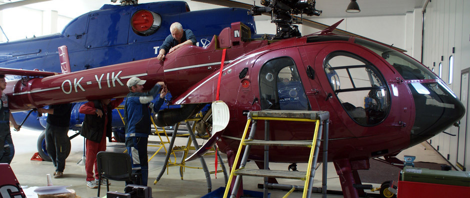 Maintenance / TECH-MONT Helicopter company