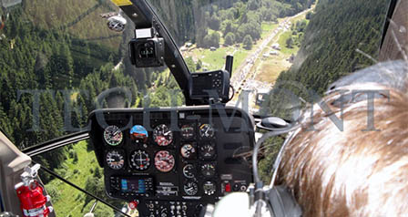 Helicopter sightseeing flights and V.I.P. flights